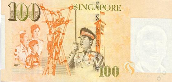 100 сингапурских долларов