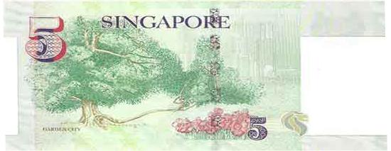 5 сингапурских долларов
