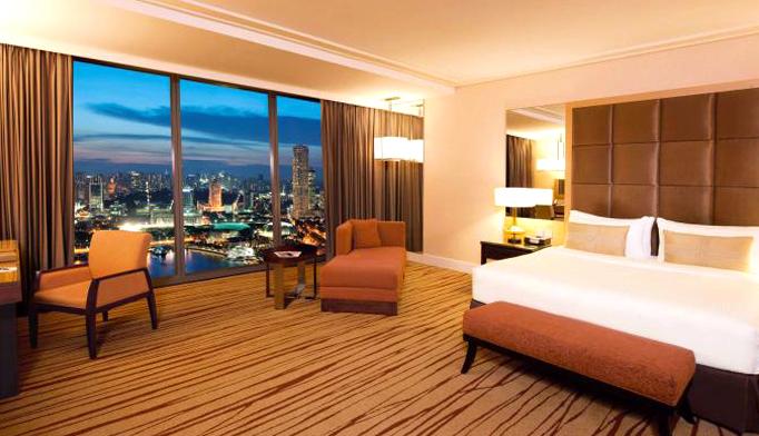Номера класса Premier Room с видом на город