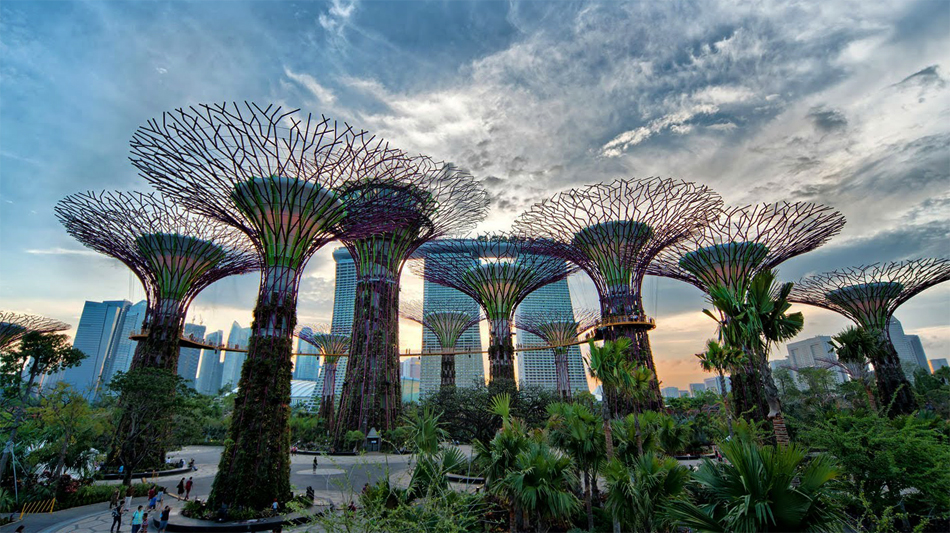 Парк Gardens by the Bay