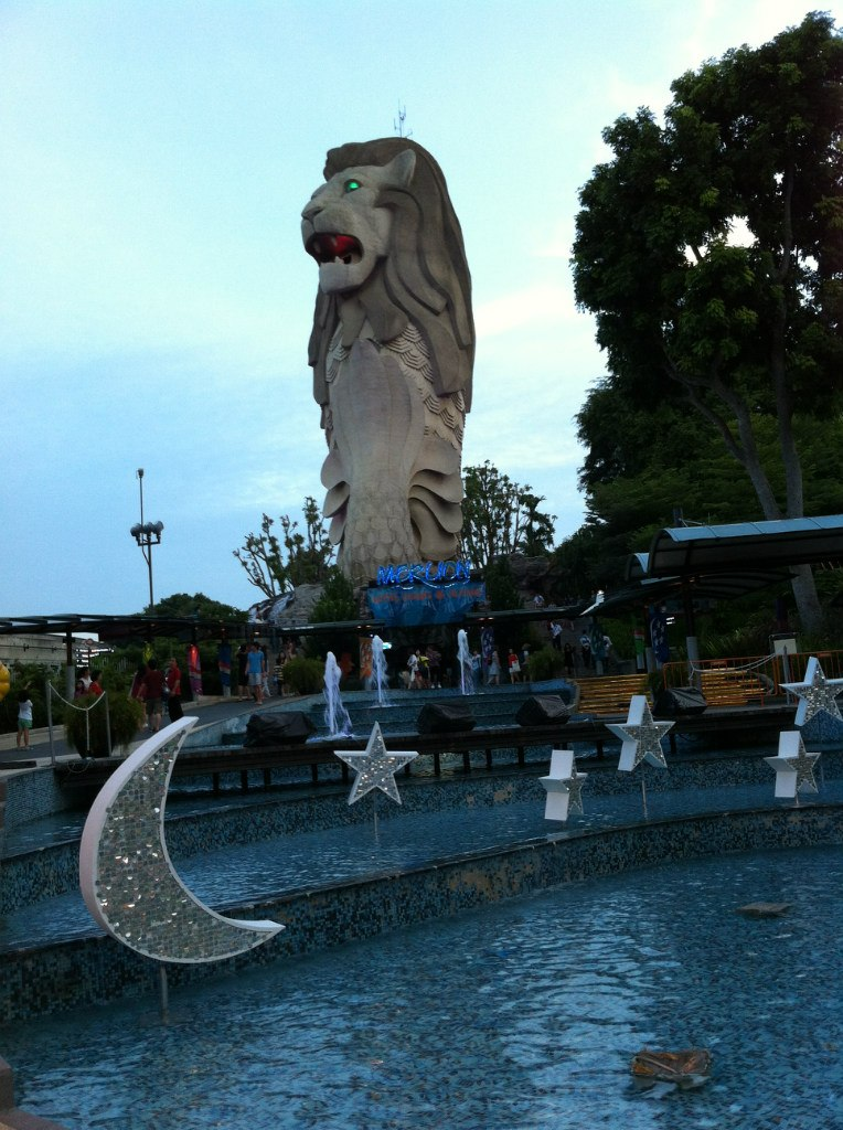 Статуя Мерлайона