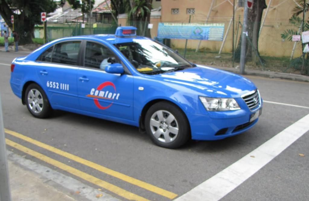 Такси в Сингапуре