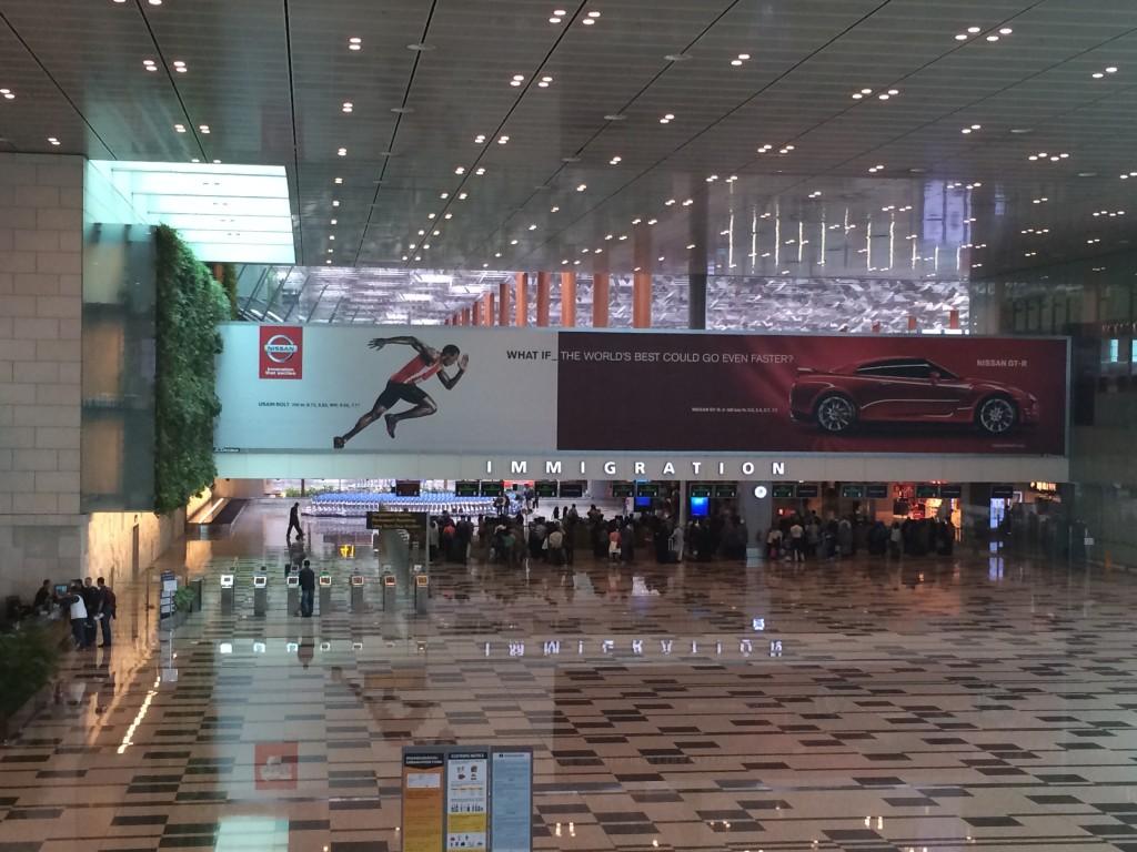 Внутри аэропорта Чанги