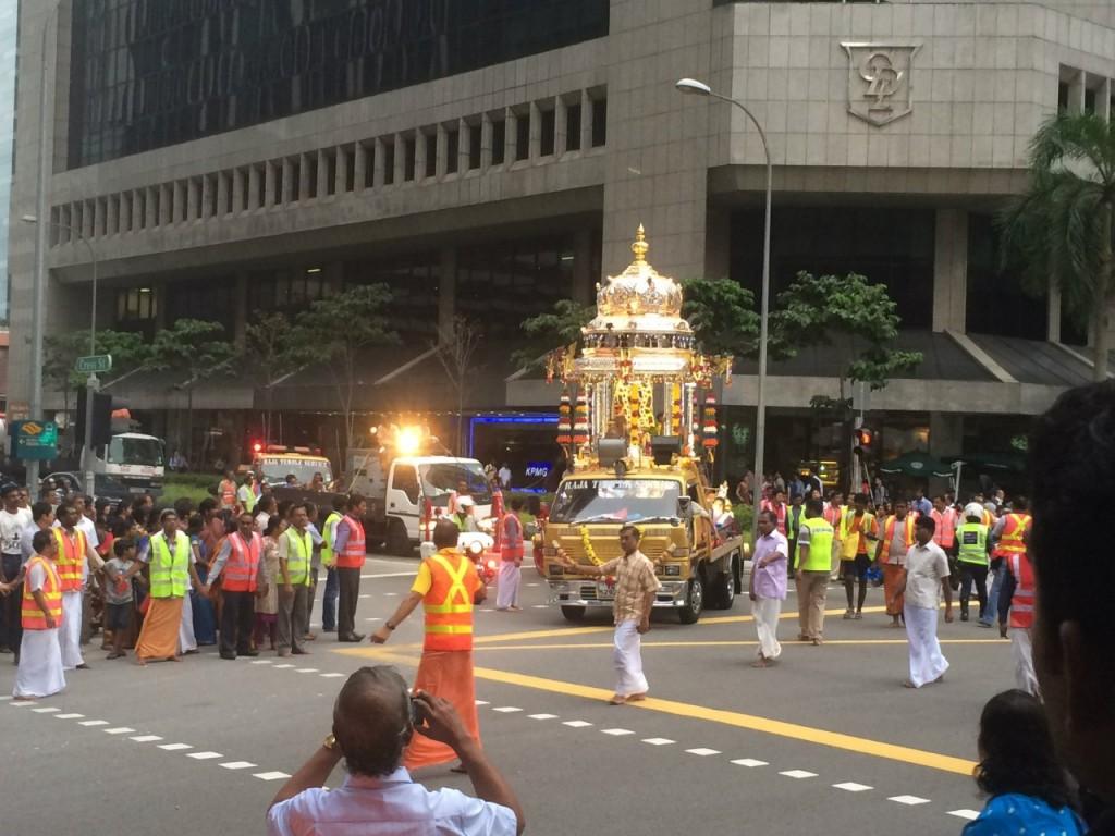 Индийский праздник в Сингапуре