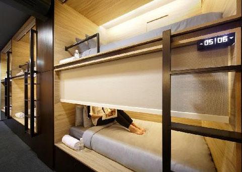 Hotel the pod