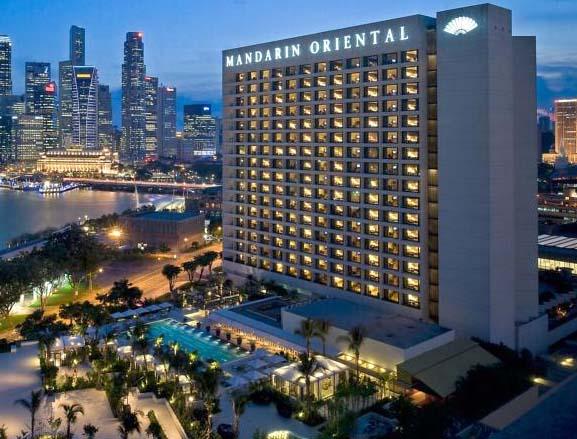 Отель Mandarin Oriental.
