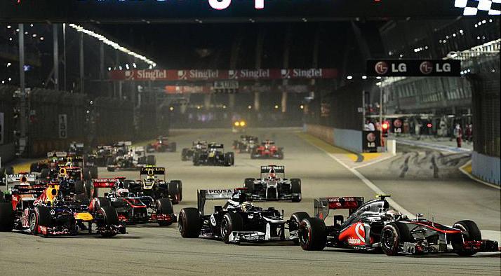 Знаменитая ночная гонка