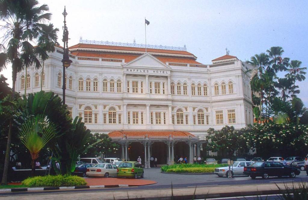 Отель Raffles Hotel Singapore.