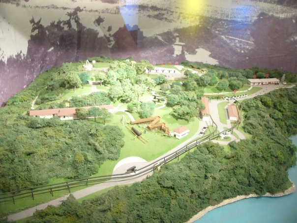 План-схема форта Силосо