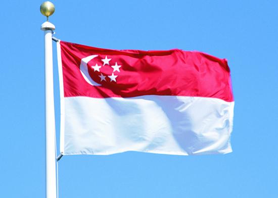 Национальный флаг Сингапура