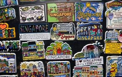 Магнитики с символикой Сингапура