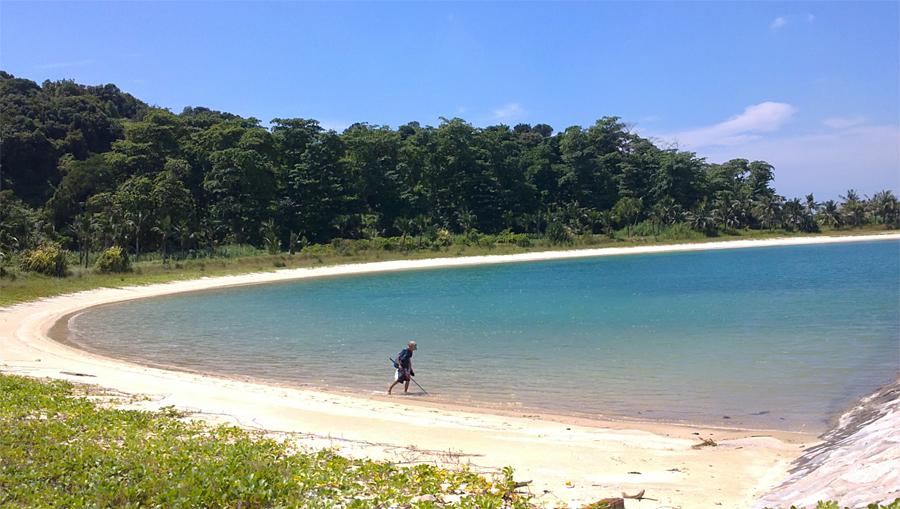 Пляж на острове Сент-Джонс