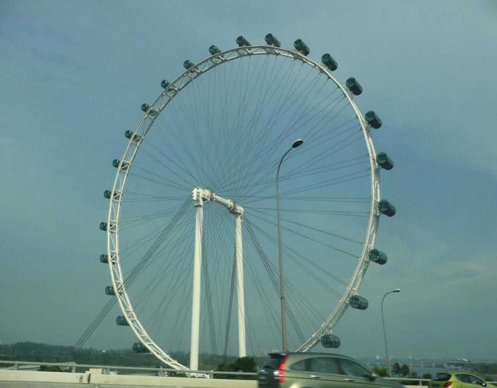 Singapore Flyer - самое большое в мире колесо обозрения