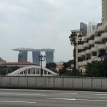 Вид на отель Marina Bay