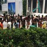 Во время индийского праздника