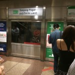 Очередь в метро в час пик