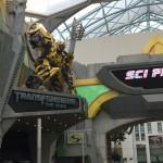 Трансформер в парке Universal
